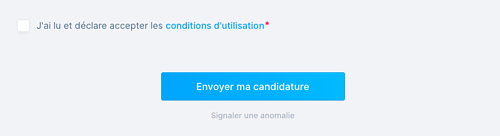 conditions candidats
