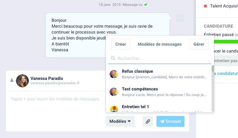 F - Utiliser les outils de la messagerie 1