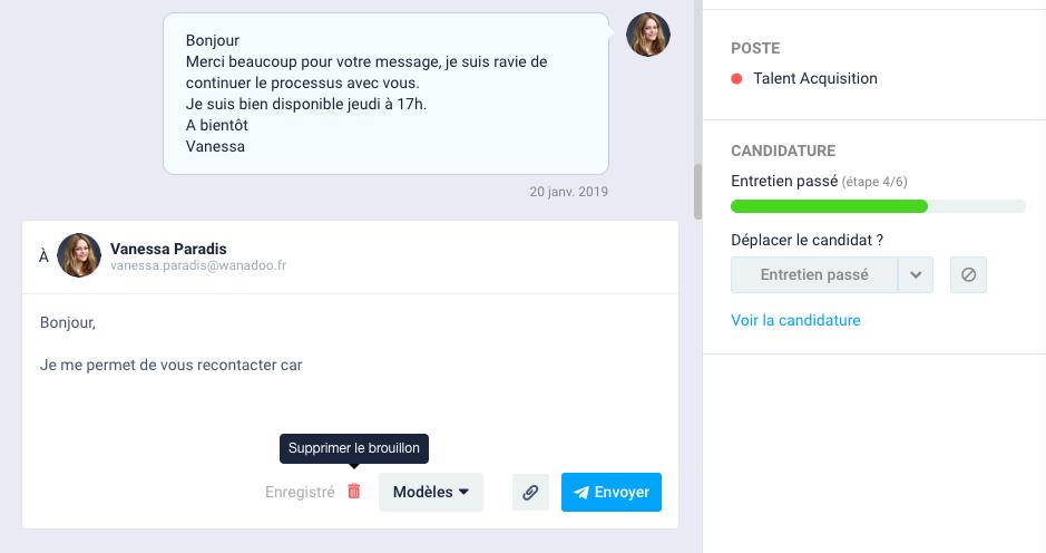 F - Utiliser les outils de la messagerie 3